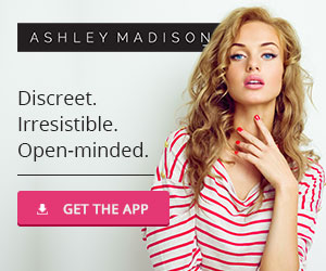Ashley Madison - Discreet. Irresistible. Open-minded.